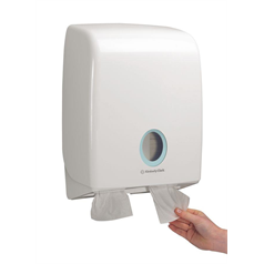 toilet tissue dispenser, toilet roll, compact, hygienic,