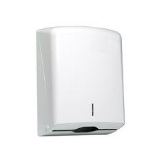 hand towel dispenser, washroom, toilet, durable, compact, reduce waste, hygienic