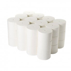 compact, nexturn, coreles, rolls, toilet rolls, toilet tissue, 2 ply, high performance, low waste,