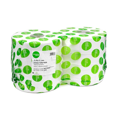 green, environmentally friendly, quality, toilet roll, tissue, recycled, jumbo