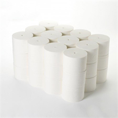 coreless, toilet roll, tissue, paper, washroom, robust, 2 ply