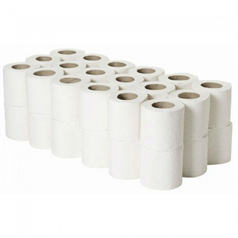 toilet rolls, 200 sheets, robust, tissue, paper, value, commercial use, 22m
