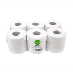 green, environmentally friendly, quality, toilet roll, tissue, recycled, mini jumbo