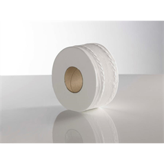 Recycled Mini Jumbo 2ply Toilet Roll 200mtr