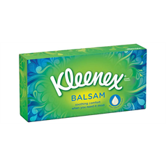 Kleenex Balsam Tissues - box of 80