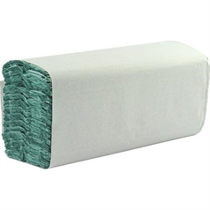 s fold hand towels, strong, absorbant, recycled paper, green, 1 ply, thick