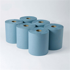 Continuous Roller Towel - Blue