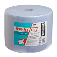 wypall, l10, wipers roll, airflex technology, quality, strong, spills, hand drying